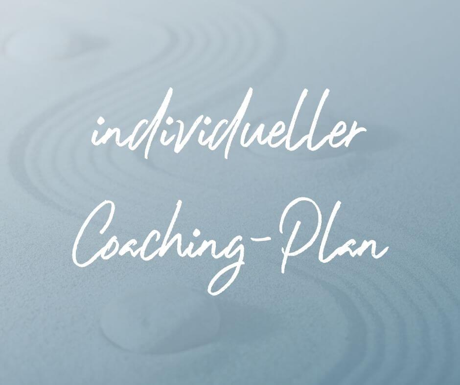 individueller Coaching-Plan